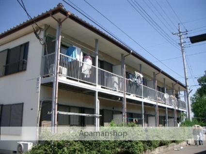埼玉県富士見市、みずほ台駅徒歩9分の築33年 2階建の賃貸アパート