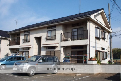 埼玉県富士見市、みずほ台駅徒歩16分の築25年 2階建の賃貸アパート