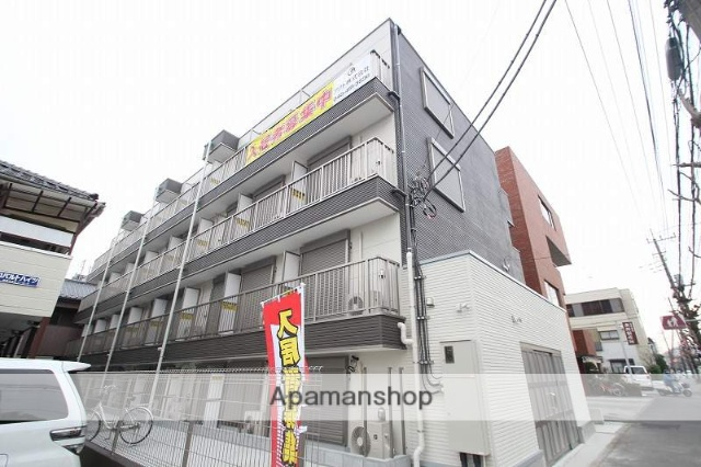 埼玉県朝霞市、北朝霞駅徒歩8分の築2年 4階建の賃貸マンション