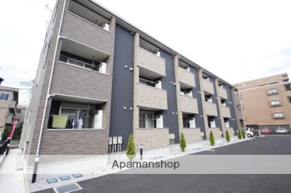 埼玉県川越市、上福岡駅徒歩11分の築2年 3階建の賃貸アパート