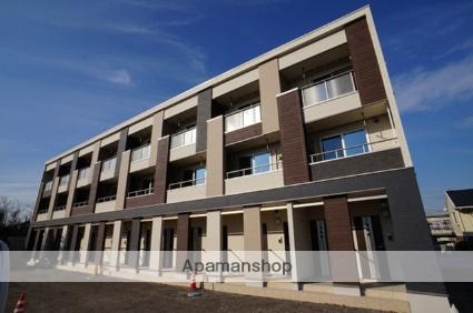 埼玉県川越市、上福岡駅徒歩30分の築2年 3階建の賃貸アパート