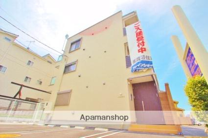 埼玉県富士見市、みずほ台駅徒歩21分の新築 3階建の賃貸アパート