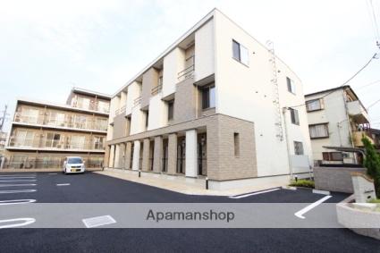 埼玉県川越市、上福岡駅徒歩11分の築1年 3階建の賃貸アパート