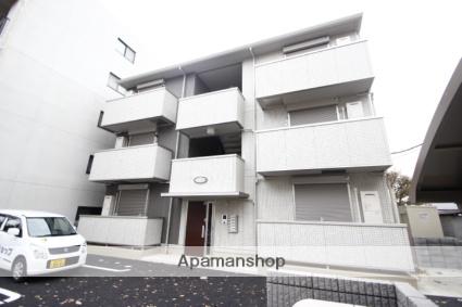 埼玉県ふじみ野市、ふじみ野駅徒歩28分の新築 3階建の賃貸アパート