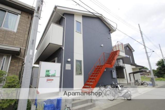 埼玉県新座市、新座駅徒歩5分の築2年 2階建の賃貸アパート