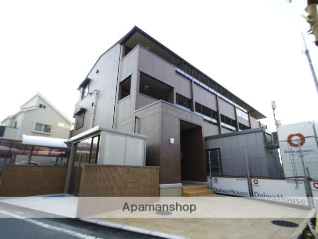 埼玉県富士見市、みずほ台駅徒歩6分の新築 3階建の賃貸アパート