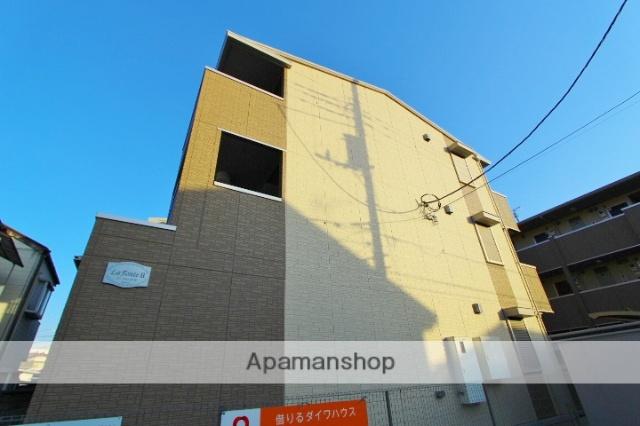 埼玉県朝霞市、朝霞駅徒歩6分の新築 3階建の賃貸アパート