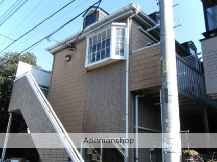 埼玉県朝霞市、和光市駅徒歩24分の築20年 2階建の賃貸アパート