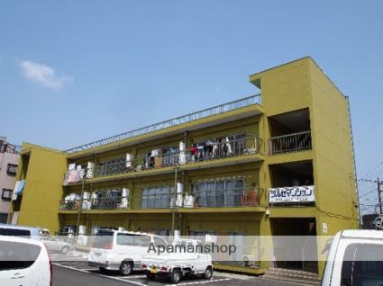 埼玉県富士見市、鶴瀬駅徒歩8分の築43年 3階建の賃貸マンション