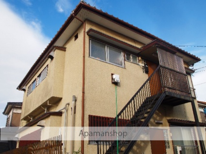 埼玉県富士見市、鶴瀬駅徒歩17分の築40年 2階建の賃貸アパート