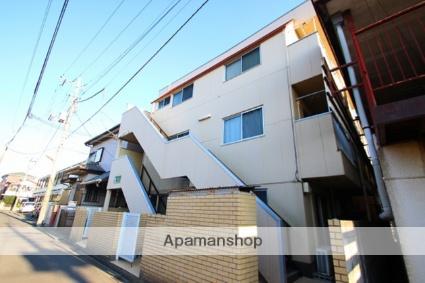 埼玉県富士見市、みずほ台駅徒歩15分の築29年 3階建の賃貸マンション