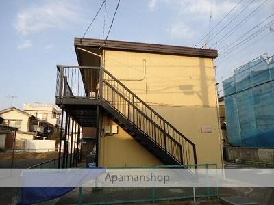 埼玉県川越市、上福岡駅徒歩15分の築33年 2階建の賃貸アパート