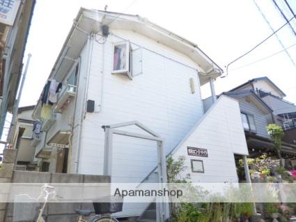 埼玉県富士見市、みずほ台駅徒歩30分の築26年 2階建の賃貸アパート