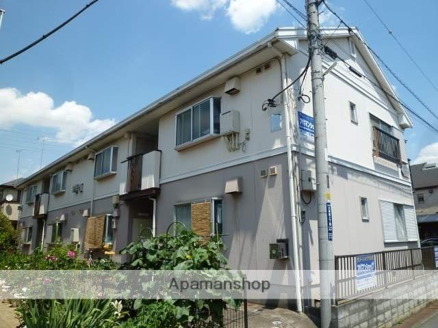 埼玉県久喜市、久喜駅徒歩12分の築20年 2階建の賃貸アパート