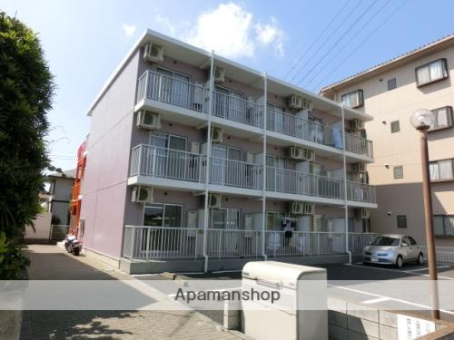 埼玉県久喜市、久喜駅徒歩13分の築24年 3階建の賃貸マンション