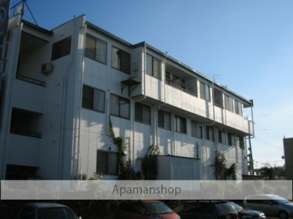 埼玉県久喜市、久喜駅徒歩19分の築26年 3階建の賃貸マンション