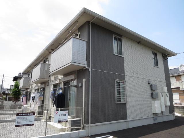 埼玉県加須市、花崎駅徒歩7分の築3年 2階建の賃貸アパート