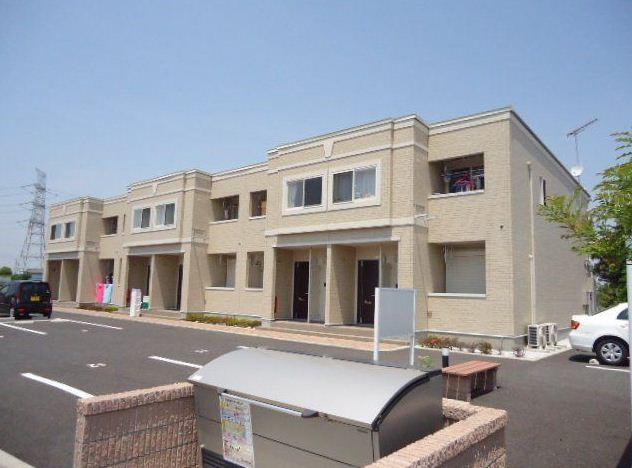 埼玉県加須市、加須駅徒歩40分の築3年 2階建の賃貸アパート