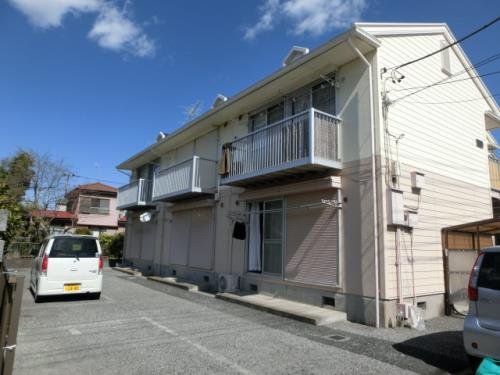 埼玉県春日部市、一ノ割駅徒歩5分の築27年 2階建の賃貸アパート