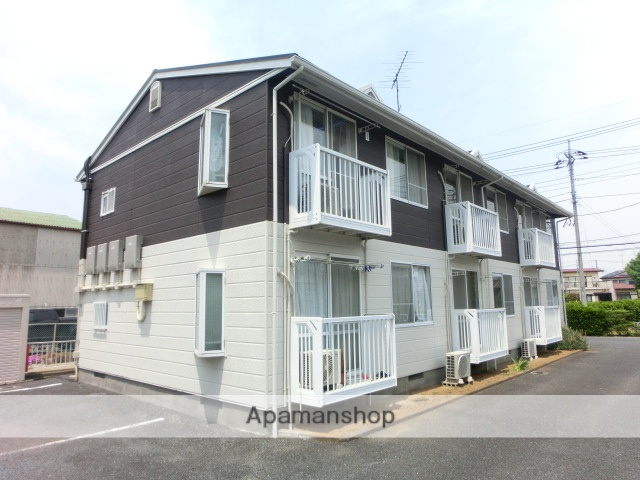 埼玉県加須市、加須駅徒歩18分の築26年 2階建の賃貸アパート