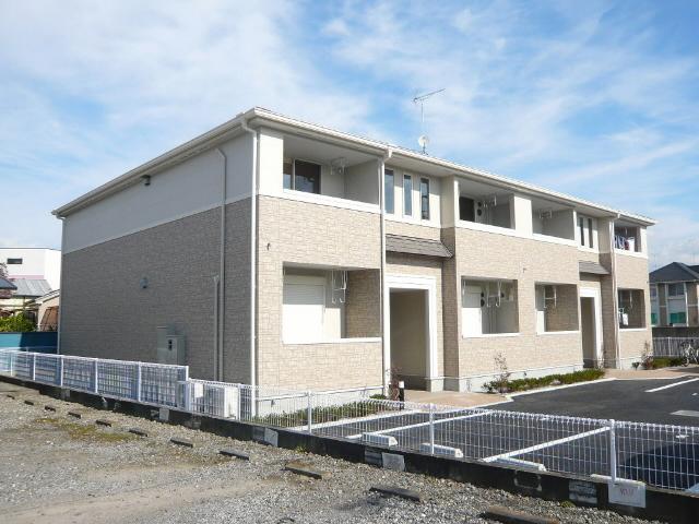 埼玉県幸手市、幸手駅徒歩11分の築5年 2階建の賃貸アパート