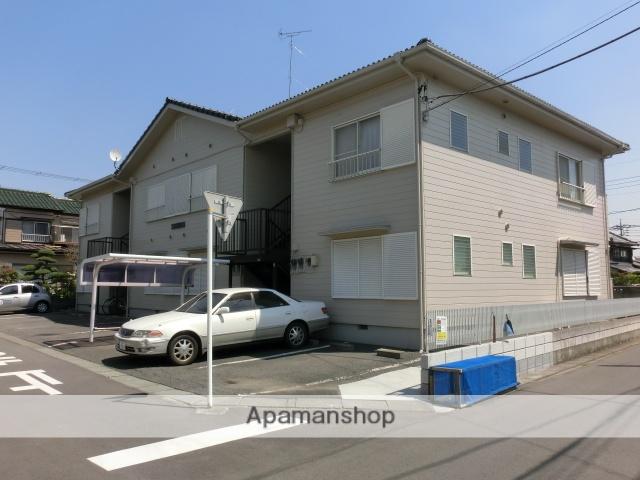 埼玉県久喜市、久喜駅徒歩10分の築27年 2階建の賃貸アパート