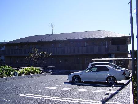 埼玉県春日部市、一ノ割駅徒歩16分の築10年 2階建の賃貸アパート
