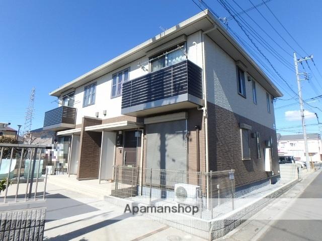 埼玉県春日部市、春日部駅徒歩17分の築3年 2階建の賃貸アパート