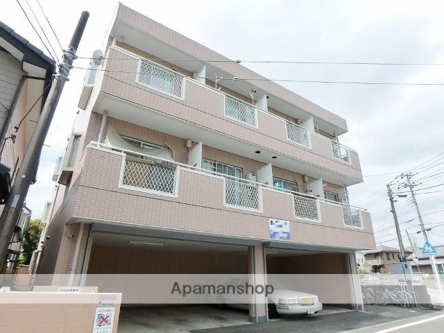 埼玉県春日部市、藤の牛島駅徒歩14分の築26年 3階建の賃貸マンション