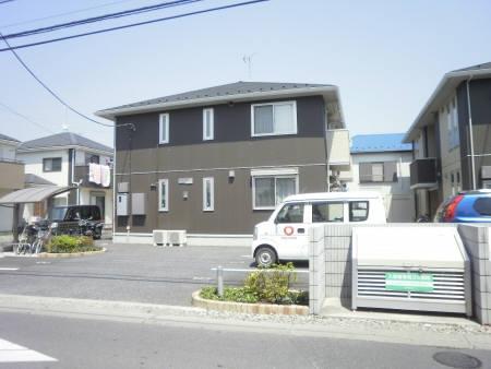 埼玉県春日部市、南桜井駅徒歩15分の築5年 2階建の賃貸アパート