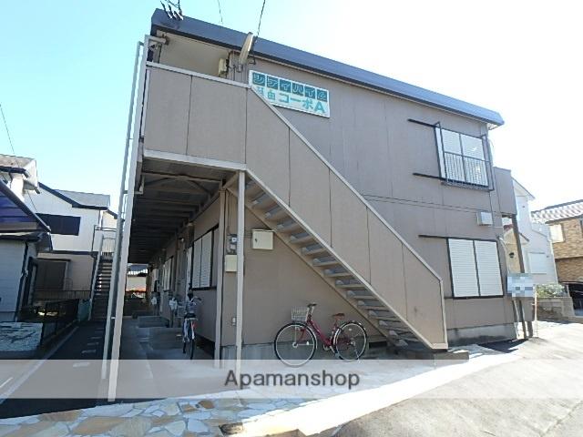 埼玉県春日部市、春日部駅徒歩11分の築29年 2階建の賃貸アパート