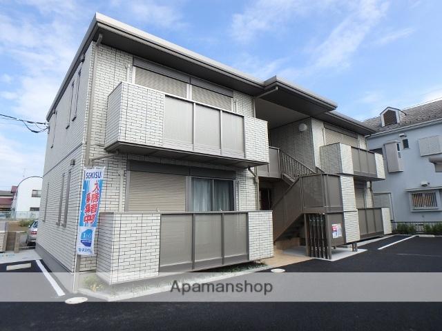 埼玉県春日部市、一ノ割駅徒歩17分の新築 2階建の賃貸アパート