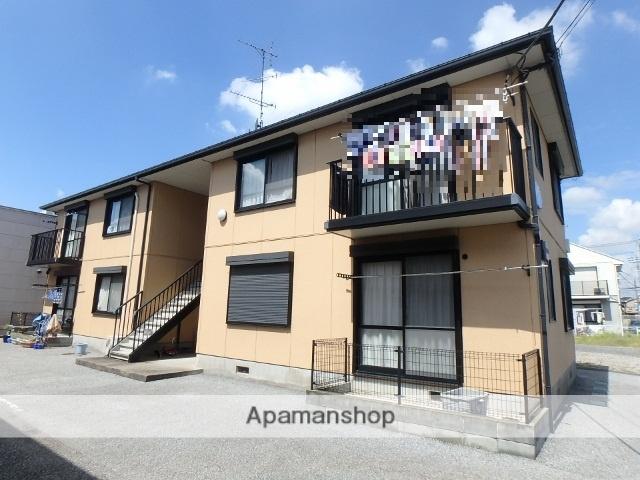 埼玉県春日部市、藤の牛島駅徒歩13分の築18年 2階建の賃貸アパート