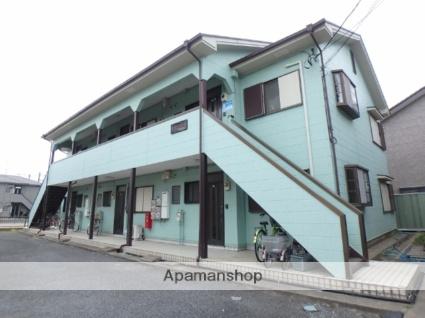 埼玉県春日部市、春日部駅徒歩17分の築24年 2階建の賃貸アパート