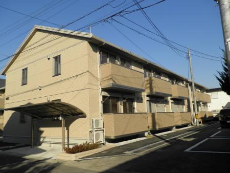 埼玉県春日部市、武里駅徒歩19分の築6年 2階建の賃貸アパート