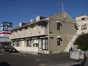 埼玉県春日部市、春日部駅徒歩8分の築24年 2階建の賃貸アパート
