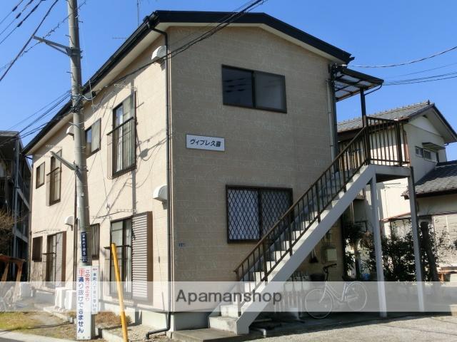 埼玉県久喜市、久喜駅徒歩14分の築14年 2階建の賃貸アパート