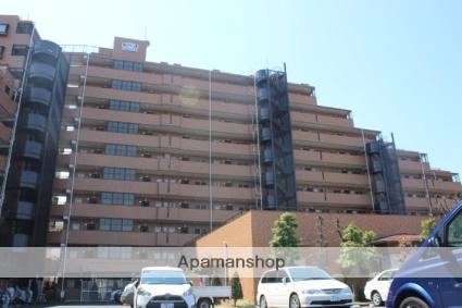 埼玉県幸手市、幸手駅徒歩10分の築25年 10階建の賃貸マンション