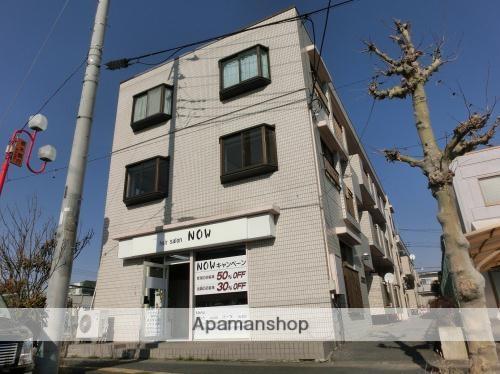 埼玉県久喜市、久喜駅徒歩10分の築29年 3階建の賃貸マンション