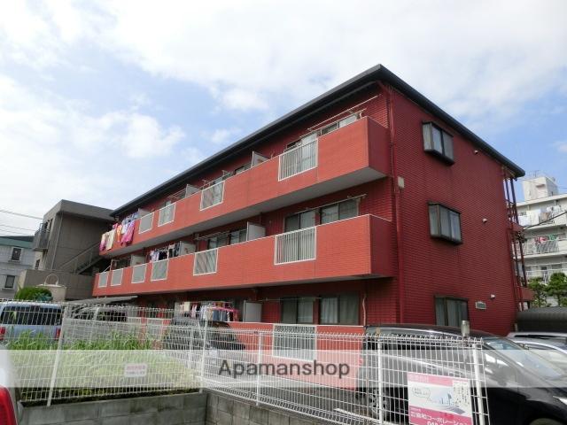 埼玉県春日部市、春日部駅徒歩10分の築25年 3階建の賃貸マンション
