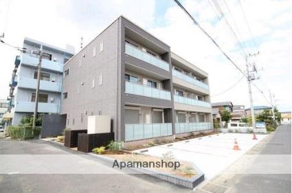 埼玉県久喜市、鷲宮駅徒歩2分の築4年 3階建の賃貸マンション