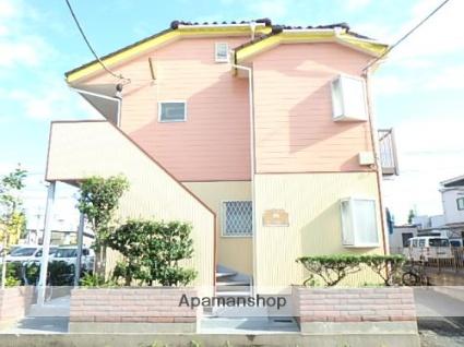埼玉県春日部市、春日部駅徒歩18分の築25年 2階建の賃貸アパート