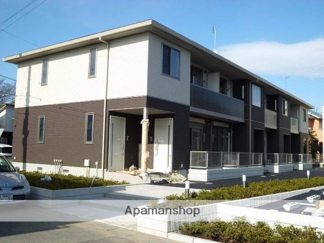 埼玉県久喜市、東鷲宮駅徒歩8分の築6年 2階建の賃貸アパート