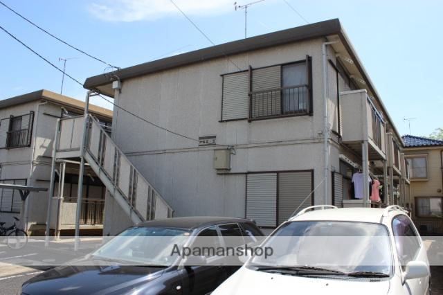 埼玉県久喜市、東鷲宮駅徒歩7分の築24年 2階建の賃貸アパート