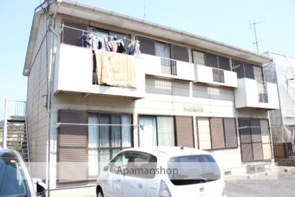 埼玉県久喜市、久喜駅バスバス10分青毛下車後徒歩6分の築26年 2階建の賃貸アパート