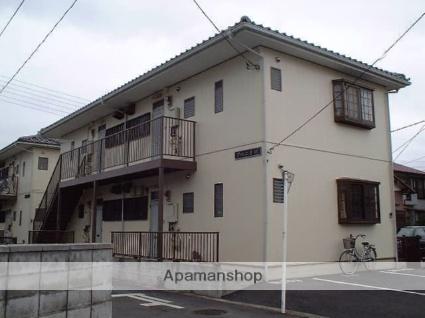 埼玉県久喜市、久喜駅徒歩5分の築25年 2階建の賃貸アパート