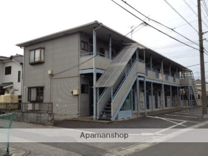 埼玉県さいたま市岩槻区、岩槻駅徒歩18分の築23年 2階建の賃貸アパート