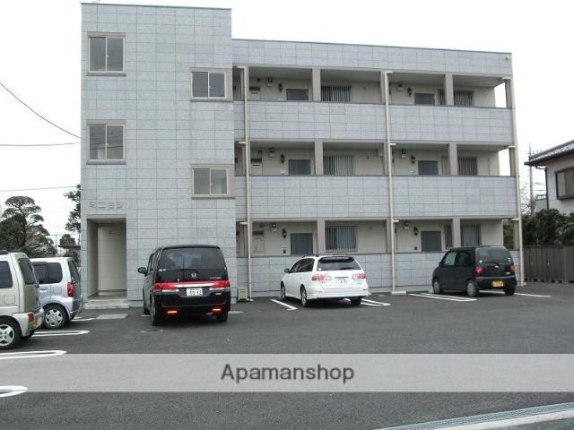 埼玉県深谷市、武川駅徒歩13分の築10年 3階建の賃貸アパート