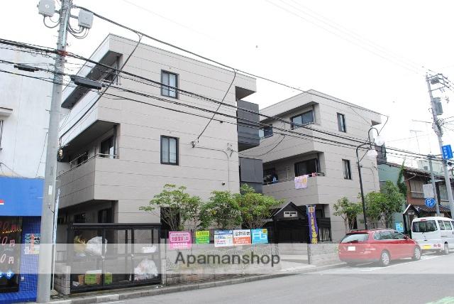 埼玉県熊谷市、熊谷駅徒歩5分の築17年 3階建の賃貸アパート