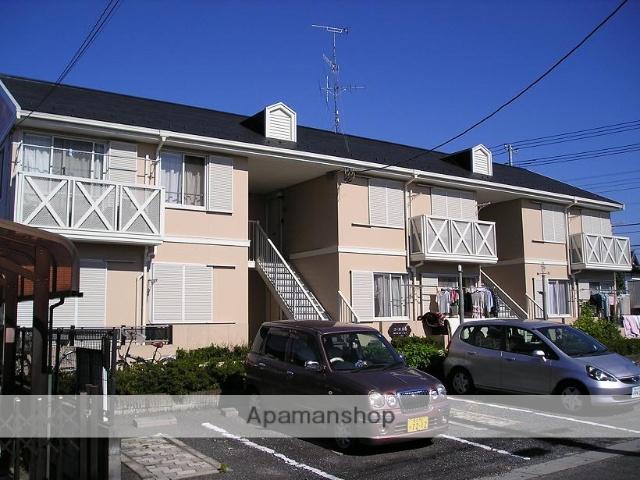 埼玉県熊谷市、籠原駅徒歩25分の築25年 2階建の賃貸アパート